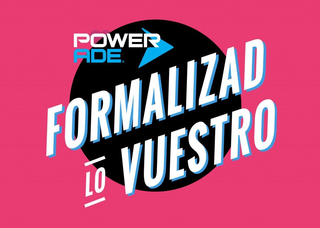 Powerade – Formalizad lo vuestro